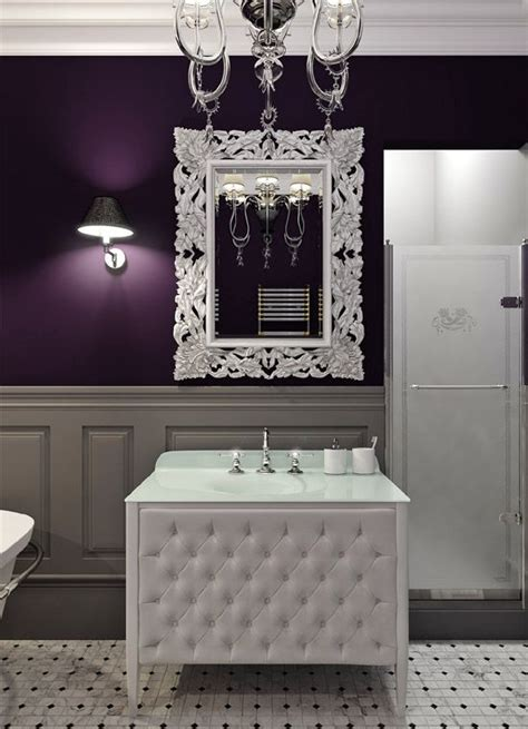 purple and white bathroom best 25 dark purple bathroom ideas on pinterest purple bathroom furniture purple