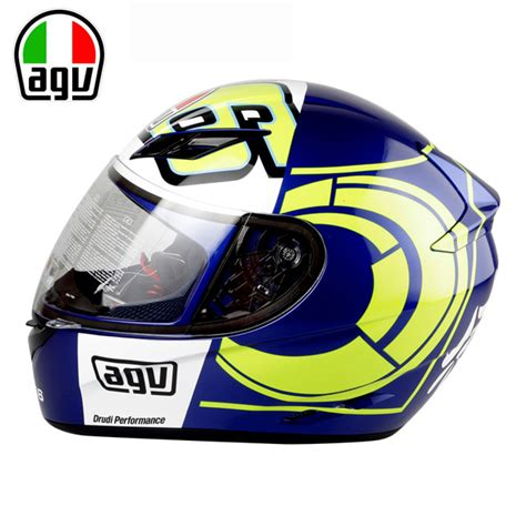 Kemeja Vr46 Agv Helmet 02 genuine agv k3 motorcycle helmet helmet moto gp
