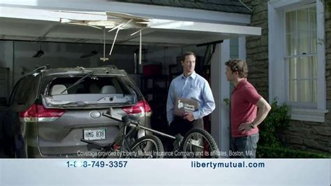 liberty mutual insurance tv commercial accident automobile insurance liberty mutual new car replacement