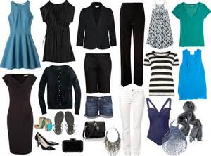 wardrobe travel capsule wardrobe