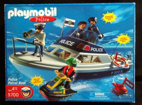 playmobil boat playmobil set 5700 usa police patrol boat klickypedia