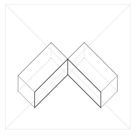 oblique lines plan oblique drawing