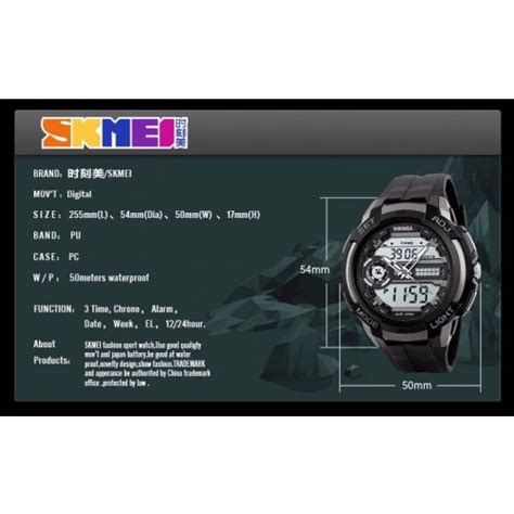 Skmei 1202 Original Anti Air jual jam tangan pria skmei science 1202 original termurah