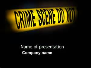 murder powerpoint template crime presentation template for powerpoint and