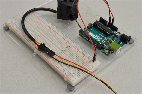 pull resistor sensor using a flow sensor with arduino bc robotics
