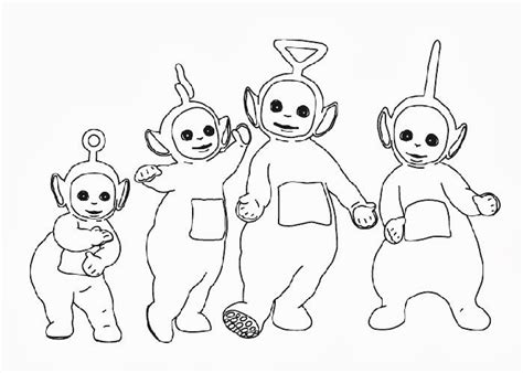 teletubbies coloring pages free coloring pages and