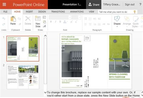 how to create printable business promotion brochures in