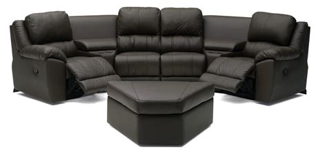 sectional home theater seating palliser benson sectional recliner home theater seating