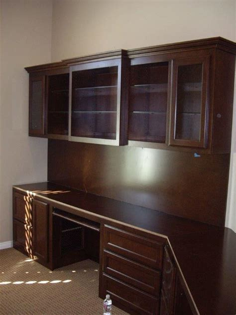 Built In Office Furniture by Built In Office Cabinets Desk Styles Yvotube