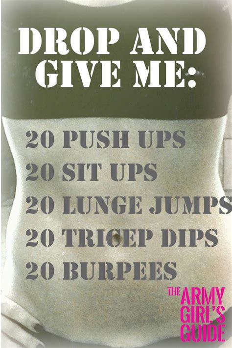 best 25 workout ideas on army