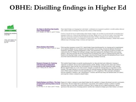 badges in higher ed research findings secret sauce and