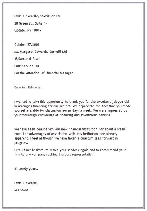 business letter format modern block style business letter cooperative simplified 1