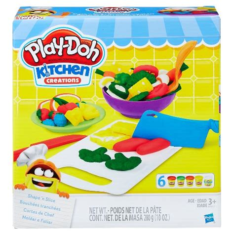 Play Doh Kitchen Set by Play Doh Kitchen Creations Shape N Slice Target