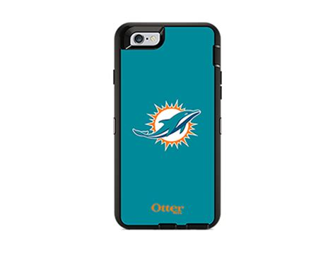 Map Of Nfl Popular Team Iphone 6 6s otterbox defender series nfl miami dolphins and holster for iphone 6 6s at t