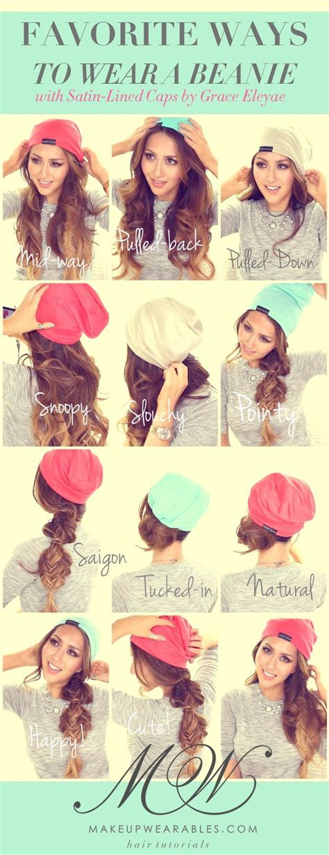 how to wear your hair to bed 25 best ideas about hat hairstyles on pinterest blonde