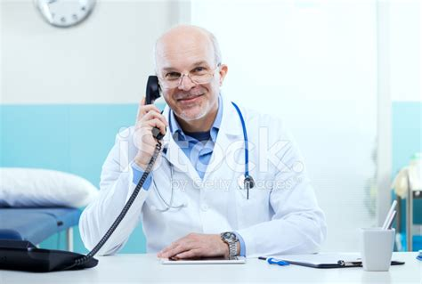 doctor the phone doctor on the phone stock photos freeimages