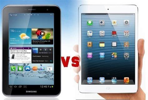 apple mini vs samsung galaxy tab 2 7 0