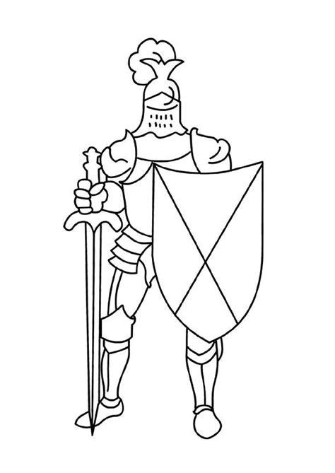 Coloriage Armure Chevalier