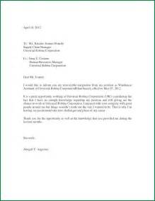 Resignation And Thank You Letter by Thank You Letter Of Resignation
