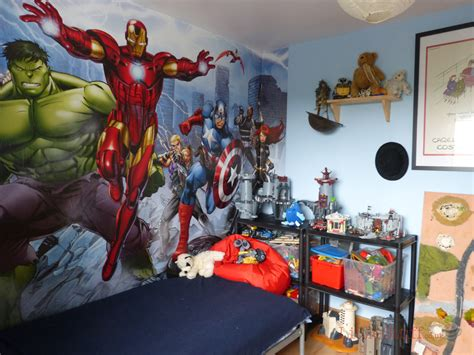 Kid Bedroom Ideas dulux marvel avengers bedroom in a box officially awesome