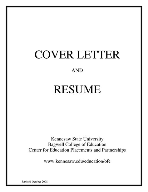 exle of resume cover page cover page for resume exle 28 images 11 cover page