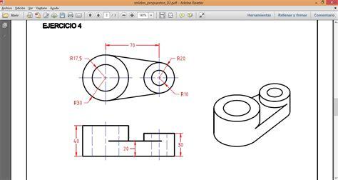 dibujar planos 2d dibujo mec 225 nico en autocad 3d