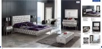 Design For Mirrored Furniture Bedroom Ideas Grey Tufted Large Size Bed Frames With Awesome Interior Furnishings Set Also Grand Vanity