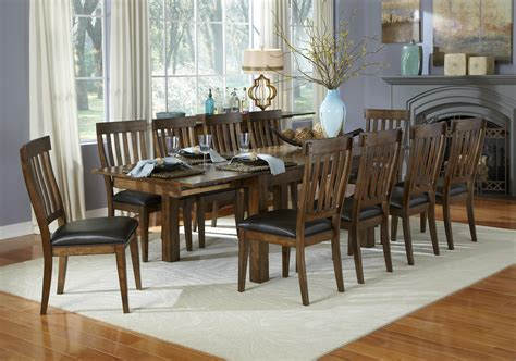 piece dining table  slatback chairs set  aamerica wolf furniture