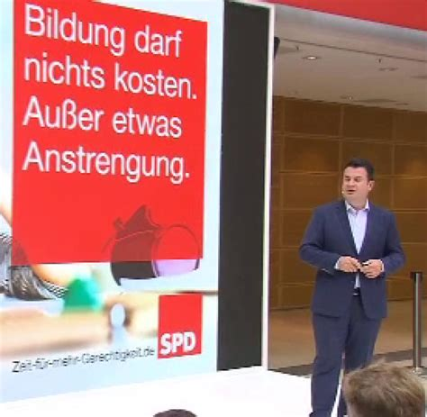 Plakat Heil Schulz by Hubertus Heil Die Spd Sollte Sich Populismus Verbieten