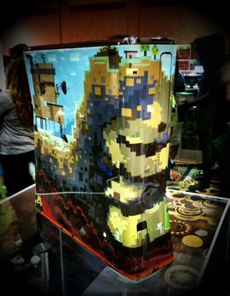game console mod minecraft 1 7 2 minecon xbox 360 console image minecraft mod db