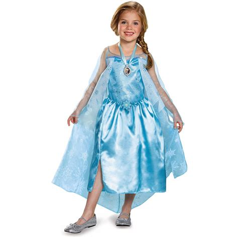 Dress Frozen disney frozen elsa s dress costume walmart