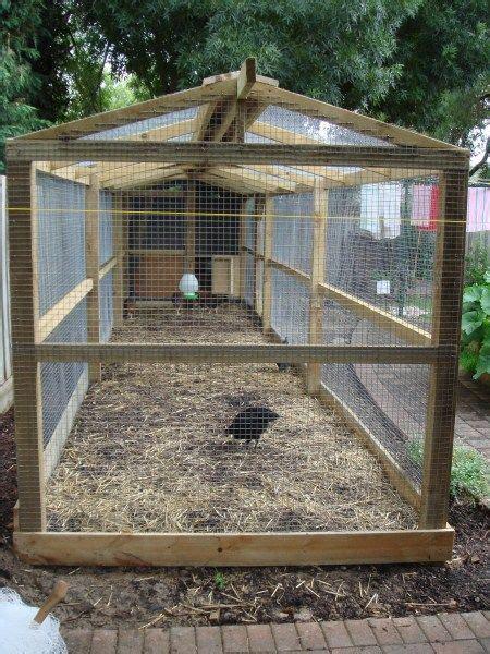 chicken run designed built by gardens melbourne