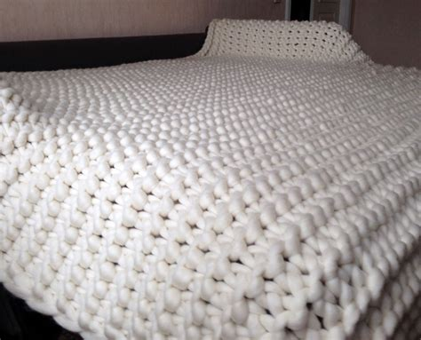 knitted throw blankets 108x90 chunky knit blanket king size blanket knit blanket