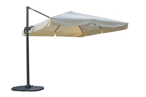 Patio Offset Umbrellas Kontiki Shade Cooling Offset Patio Umbrellas 10 Ft
