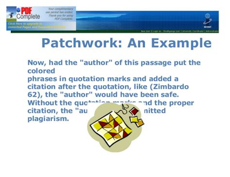 Patchwork Plagiarism - patchwork plagiarism 28 images patterns of apparent