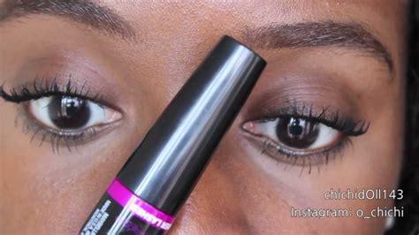Mascara Big Eye Maybelline my lashes maybelline falsies big
