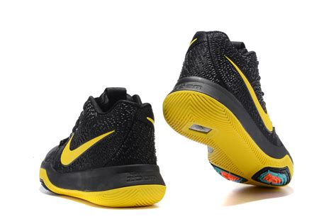 yellow nike basketball shoes 2017 cheap kyrie 3 black yellow basketball shoes for sale