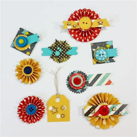 handmade scrapbooking embellishments take two s