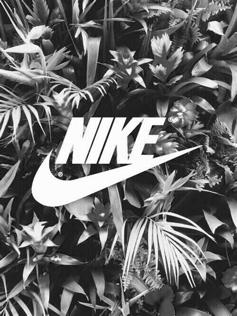 black and white pattern nikes nike quote tumblr image 3913789 by helena888 on favim com