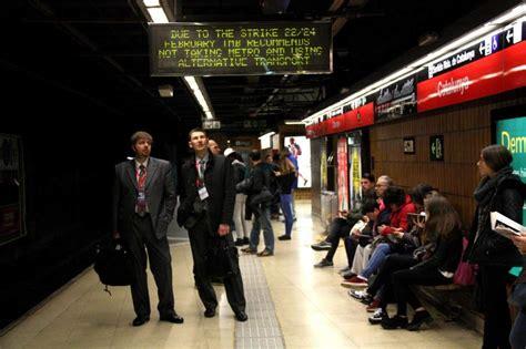 sueldo trabajadores metro barcelona tabla sueldo trabajadores metro barcelona tabla el sueldo de