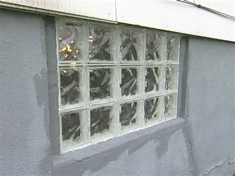 doors windows how to install glass block basement