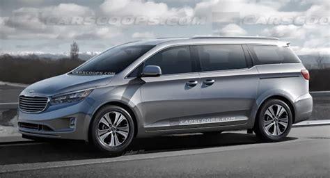 New Kia Minivan 2015 by Carscoops Kia Sedona Posts