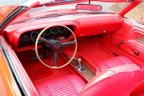 Custom Challenger Interior by 1970 Dodge Challenger Custom Convertible 188766