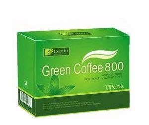 Coffee Green 800 on sale leptin green coffee 800