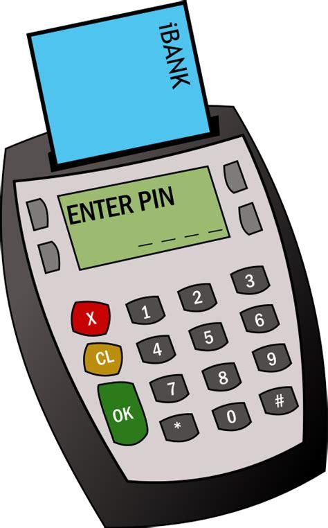 Card Reader 6slot Transparant chip and pin machine vector image 365psd