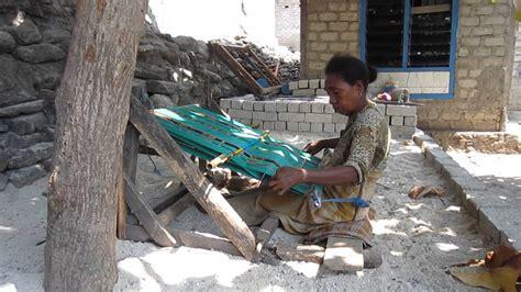 Rang Rang Lombok cara membuat kain tenun rang rang dan songket lombok