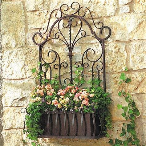 decorative iron the idea of using wrought iron metal at home