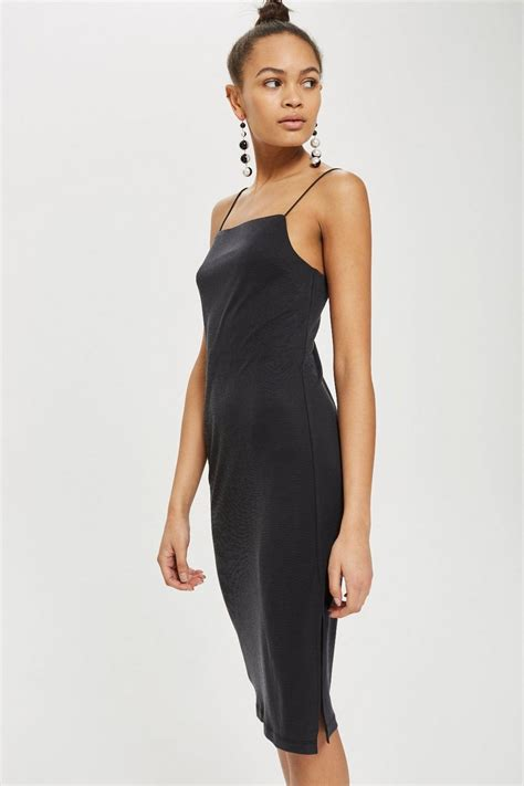 Square Dress square neck slip dress topshop
