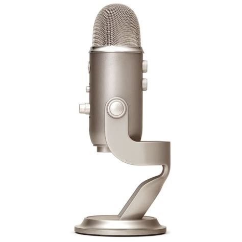 condenser microphone yeti blue microphones yeti platinum usb condenser microphone with headphones output