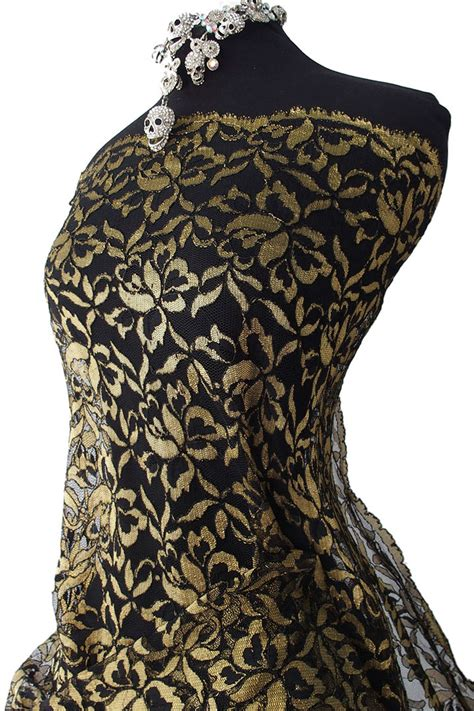 pattern for black lace dress black and gold lace fabric black lace with golden yellow